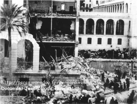 après les bombardements du 12 novembre 1942